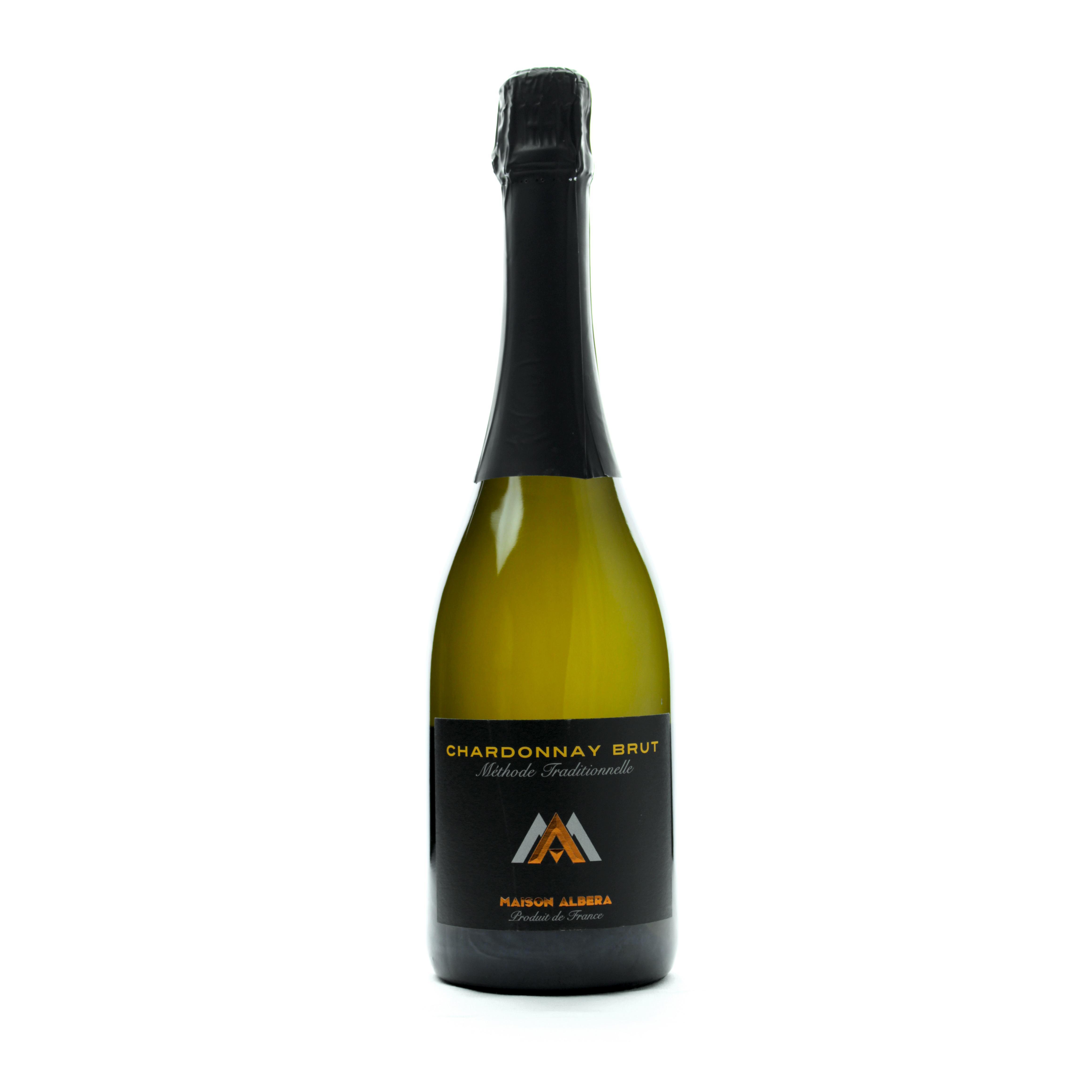 maison albera -Chardonnay_Brut-vin mousseux